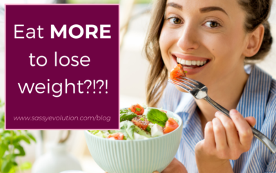 Eat MORE to lose weight?!?!